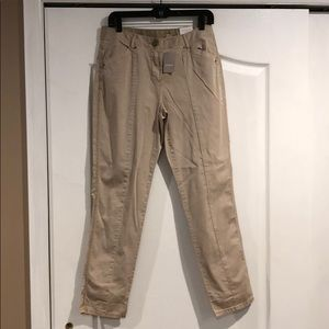Chico's stone ankle pants